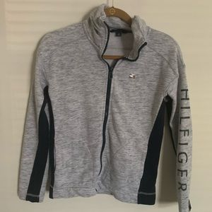 Tommy Hilfiger Zip-Up Gray Sweater